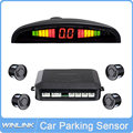 LED display Car Parking Sensor Reverse Backup Radar System Buzzer  4 Sensors Car Parking Assistance
