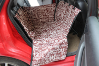 Pet Car Dog Seat Cover Dog Carrier Auto Car Waterproof Rear Back Single Seat Hammock Seat