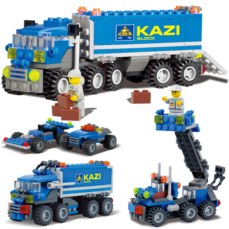 163pcs/lot AIBOULLY 6409 city Truck Model Building Blocks Sets Deformation Car Bricks Toys Christmas gift Compatible with W269 new original kazi 6409 city truck model building blocks sets 163pcs lot deformation car bricks toys christmas gift toy sa614