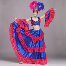 Belly Dance Costume Outfit Sexy Samba Rio Carnival Halloween  Stage Performance Dancing Clothing