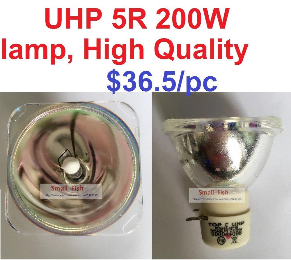Бесплатная Доставка Shapy Луч 5R 200 Вт ЛАМПЫ Перемещение Луча 200 Лампы 5r Сканирования луча 200 5r Металлогалогенные Лампы MSD Платиновый 5R Галогенная Лампа