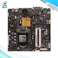 Para asus h81t original usado madre de escritorio de intel h81 socket LGA 1150 Para i7 i5 i3 DDR3 16G SATA3 UBS3.0 Delgada Mini-itx