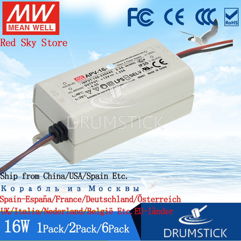 Mean Well 60W LED Power Supply 12V 60A LPV-60-12