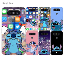 Uyellow Cartoon Cute Stitches Case For LG G4 G5 G6 G7 V10 V20 V30 V40 Q6 Q7 Q8 Cover K8 2018 Phone Shell For LG K10 2017 Coque все цены