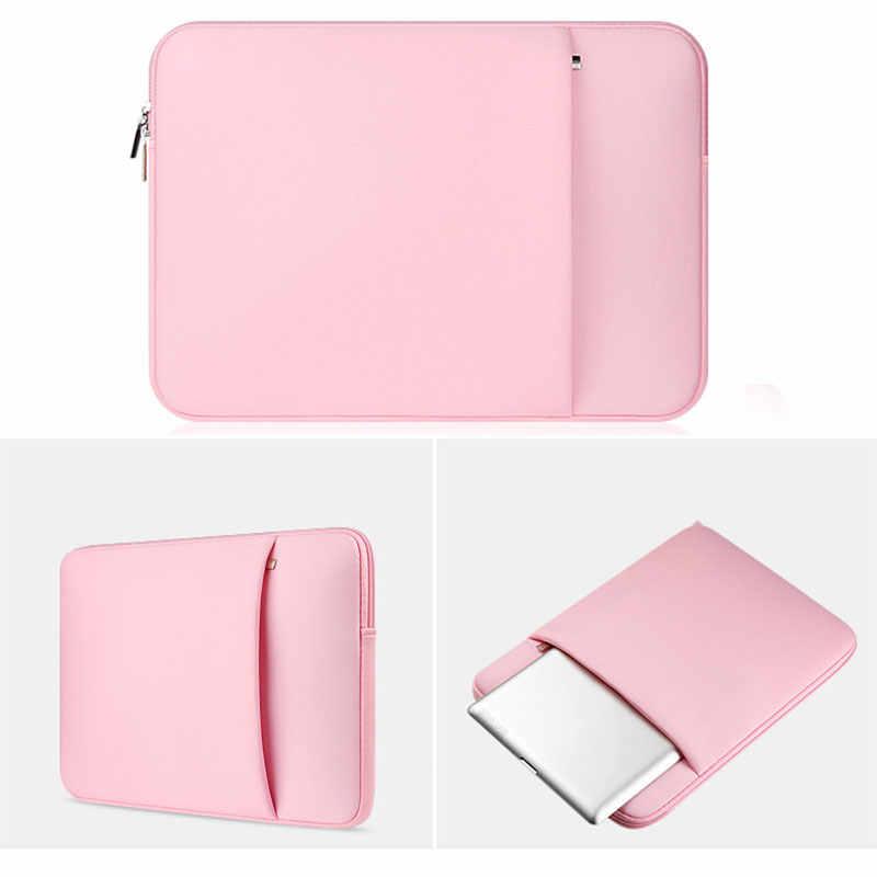 11/12/13/14/15 インチソフトスリーラップトップバッグケースアップルの Macbook Air Pro 網膜ノートブック UY8
