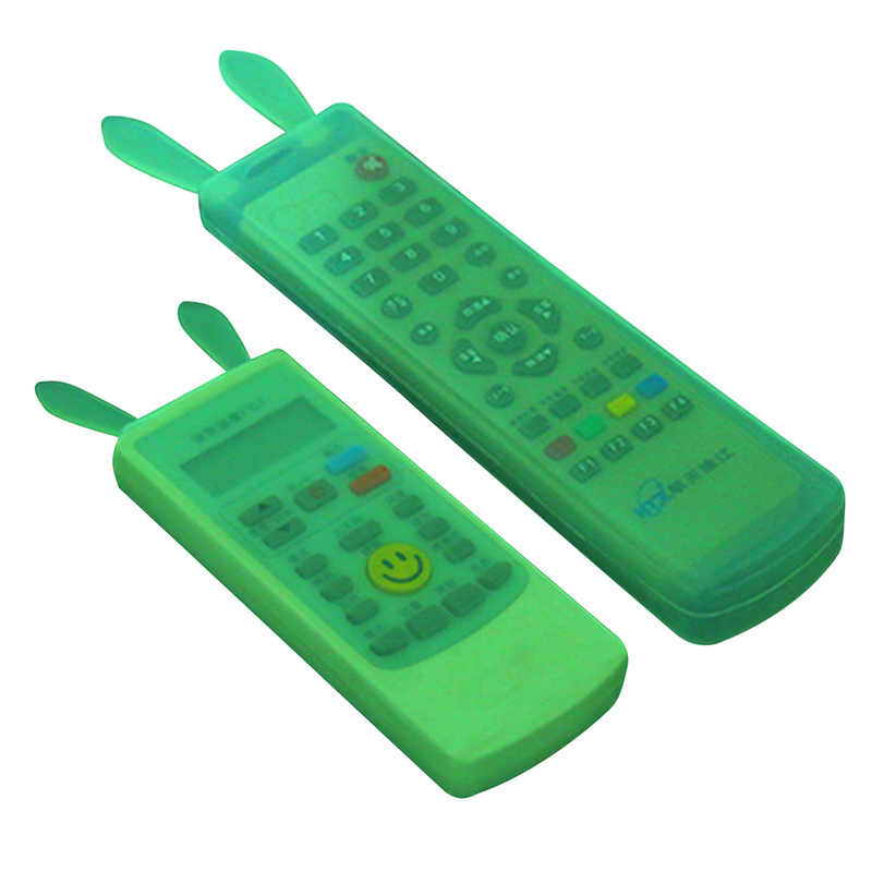 กันน้ำรีโมทคอนโทรลป้องกัน Air Conditioner TV รีโมทคอนโทรลกระเป๋าการ์ตูนซิลิโคน Cover กรณีฝุ่น