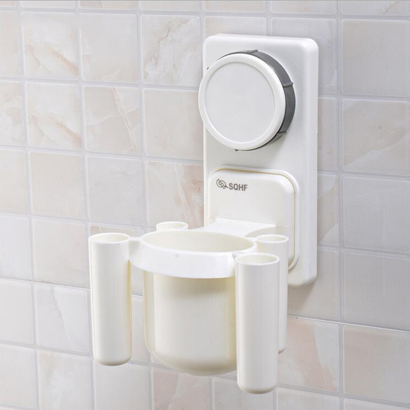 Buy 1pc plastic toothbrush holder suction cup toiletries - Where to buy bathroom accessories ...