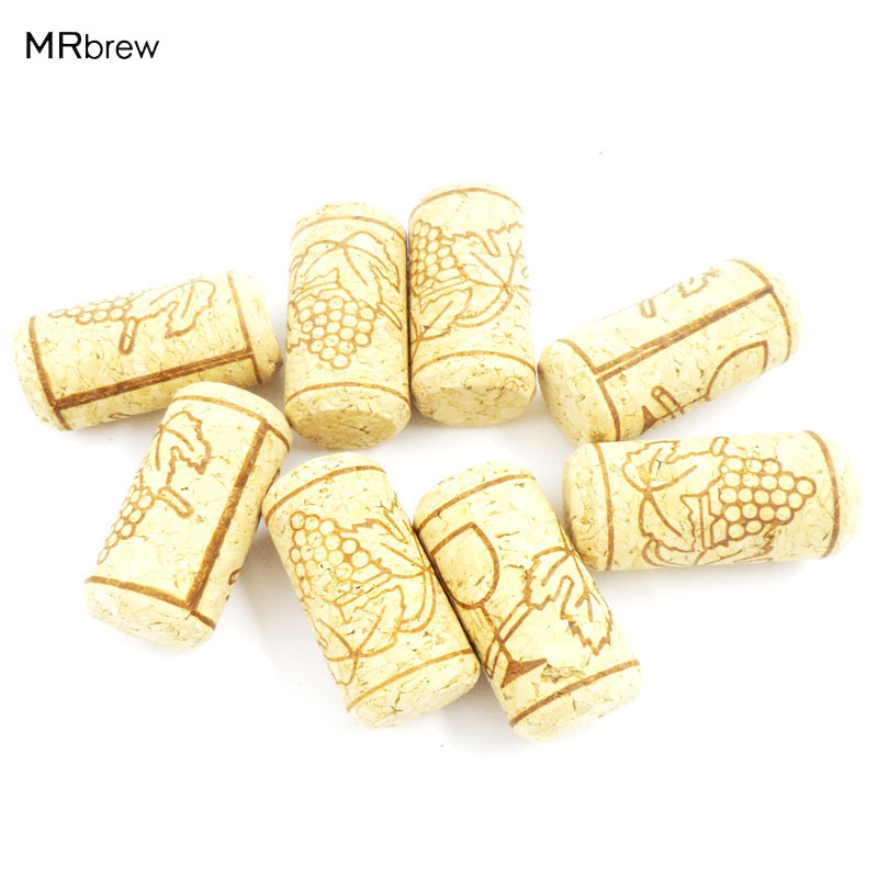 1000 pcs/lot ,22*44mm Cork Wine bottle stoppers Convenient Unused Straight Natural Tapered, Round Cork Plugs