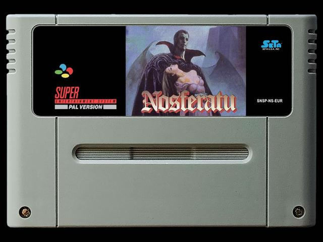 16Bit Games ** Nosferatu ( PAL EUR Version!! )