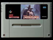 16Bit משחקים ** Nosferatu (PAL EUR גרסה!!)