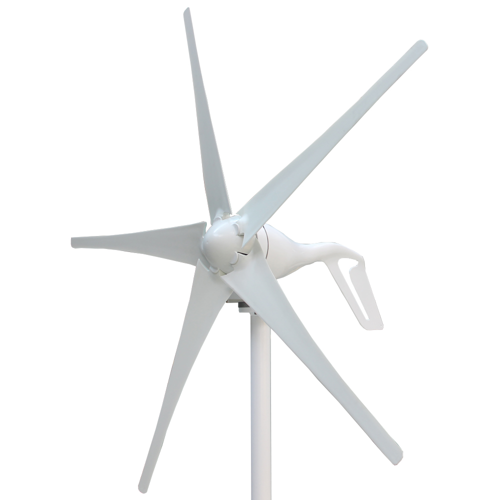 все цены на New Wind Generator 400W 3 Blades or 5 Blades Wind Power Turbine with Waterproof Controller 12V 24V онлайн