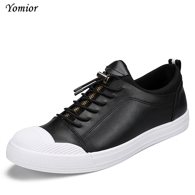 Yomior New Fashion Mens Shoes Slip-on Zip Round Toe Casual Shoes for Men Spring/Autumn Loafers Driving Soft Leather Flat Shoes 2017 new flats men shoes zip round toe leather men loafers shoes fashion brand outdoor shoes casual sapatos masculino
