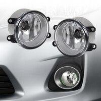 DWCX 2pcs Fog light Lamp Right + Left Set For Toyota Camry Corolla RAV4 Yaris for Lexus LX570 LX570 RX350 RX450h HS250h GS350