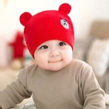 Crianças Menino Da Menina Do Miúdo Do Bebê Inverno Quente Crochet Gorro De  Lã Tricotada Hat Cap Beanie Bonito Orelhas Dos Animai. 0a47e858c98