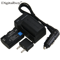 DigitalBoy 2PCS 2650mAh LP E6 LP E6 LPE6 Rechargeable Camera Battery Charger For For Canon 5D