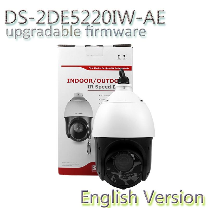 imágenes para En la Acción envío libre inglés versión DS-2DE5220IW-AE 2MP 20X Red IR Cámara Domo PTZ