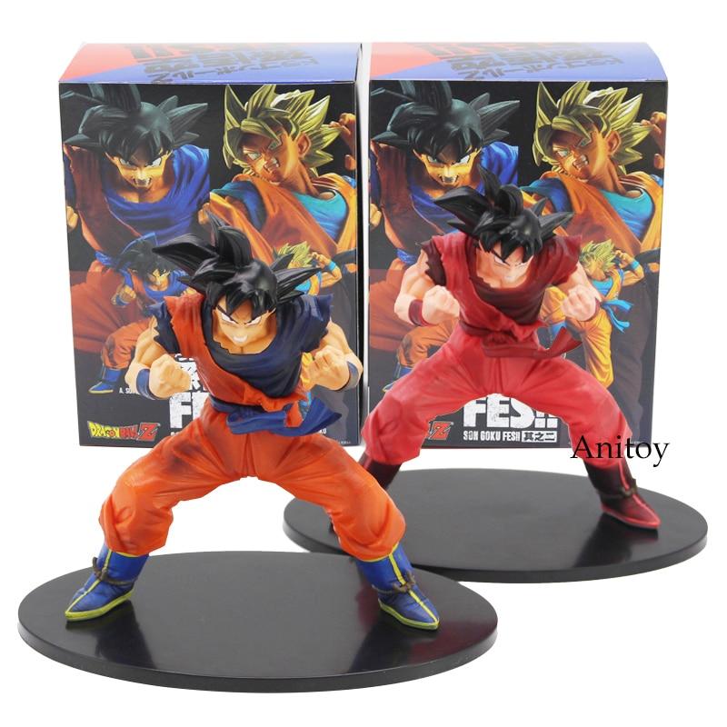 Dragon Ball Z Son Goku FES!! Kaioken PVC Figure Collectible Model Toy With Retail Box 17cm fire toy deadpool pvc action figure collectible model toy 10 27cm retail box wu124