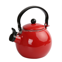 Water Kettles Thicken of the enamel whistling kettle electromagnetic furnace enamel ring kettle tea urn Enamel kettle Gas stove
