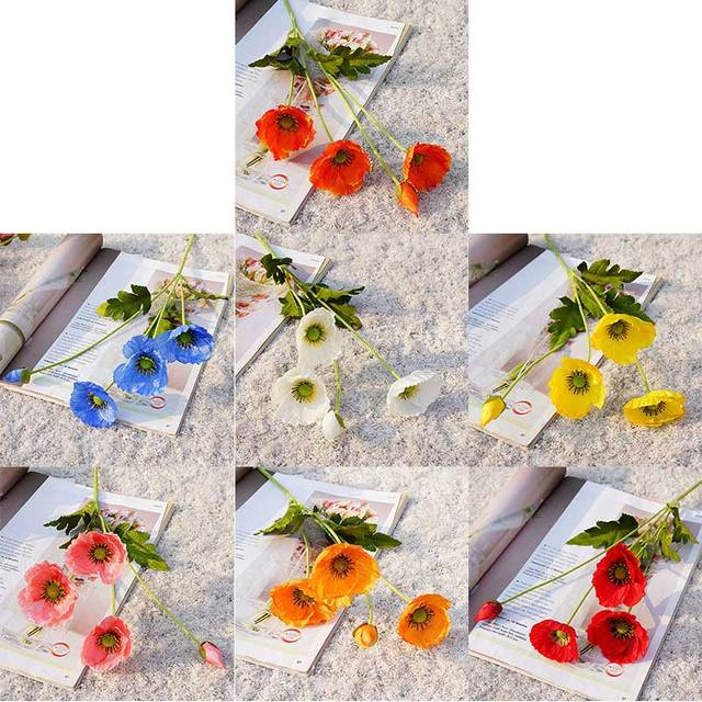 Wedding Flowers Bouquet Party Home Artificial Flowers House Supplies Decoration High quality Home decoration