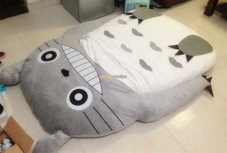 Fancytrader 190cm X 130cm Super Cute Huge Giant Totoro Bed Tatami Carpet Sofa Free Shipping FT90191 (5)