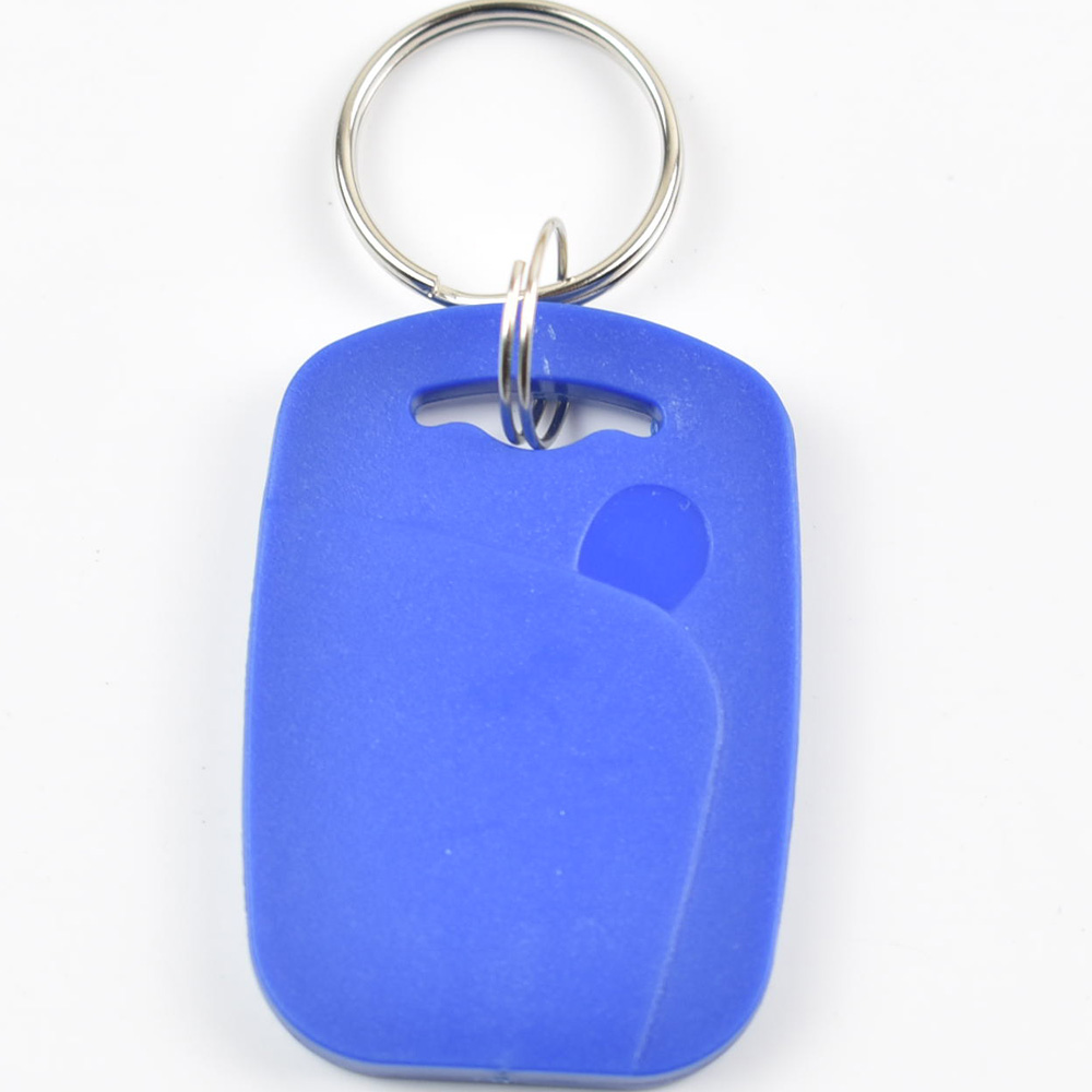 5pcs RFID key fobs 13.56MHz proximity ABS key ic tags Token Ring nfc 1k  china Fudan  S50 1K chip blue rfid key fob 13 56mhz proximity abs ic tags fm1108 1k tag door lock access controller token