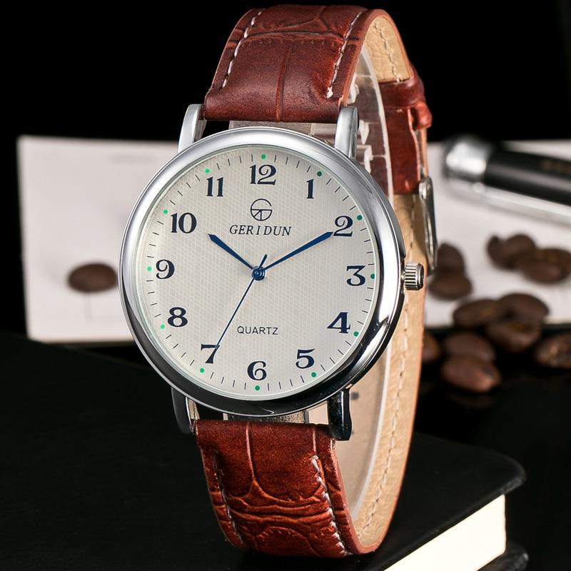 2017 Nuevos relojes de lujo para hombre Reloj de cuero súper suave - Relojes para hombres