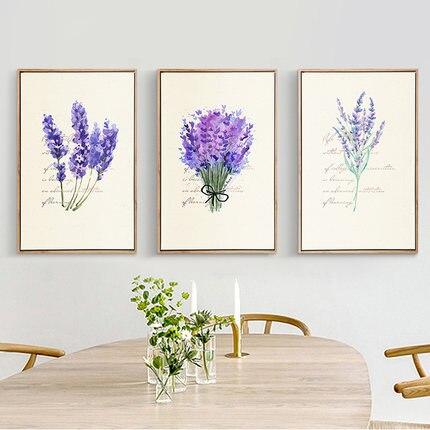 3pcs/set Needlework,Cross Stitch Full Embroidery Kit,pretty Lavender Flower Bouquet Printed Pattern Cross Stitch Wedding Gift