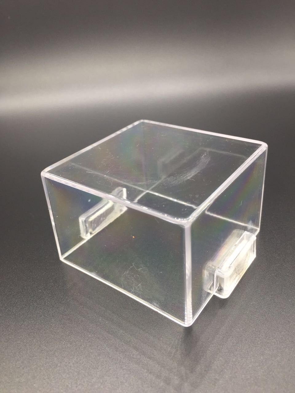 Magnetic button protective cover with magnet square transparent protection cover seat distribution cabinet special