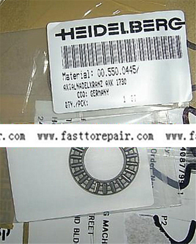 2pcs 00.550.0445 bearing for PM52 SM52 Heidelberg Offset Printing Press 20pcs heidelberg sm52 pm52 o seal 00 580 4270 r 60x3mm paper suction spare parts