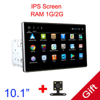 10.1 Android 7.1 Universal 1 Din /one din Car DVD Player+Radio+GPS Navigation+Autoradio+Stereo+Bluetooth+SD USB RDS
