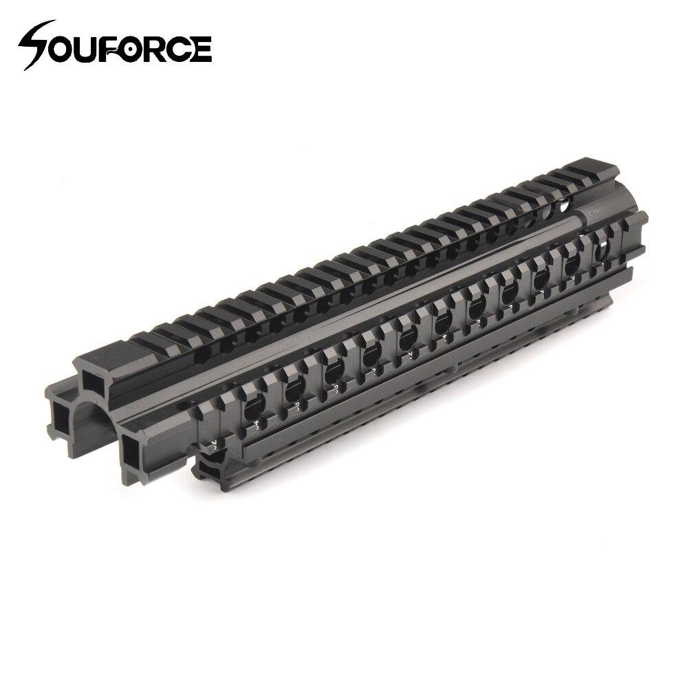 New Tactical FN FAL Quad Rail Mounting System Picatinny Rail Handguard Aluminium L1A1 Hu ...