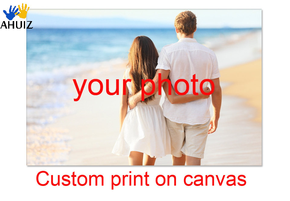 Custom photo Print on Canvas Painting ,Your Picture,Family,friends or Baby Photo,Favorite Image Home Decorate