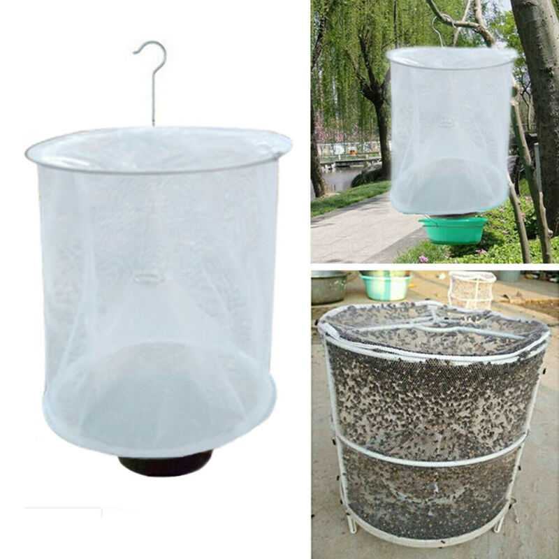 Hot Sale Fly Trap The Most Effective Made Powerful Capture Of Suspen The Ranch Pest Control  Reusable Hanging Fly Catcher Killer