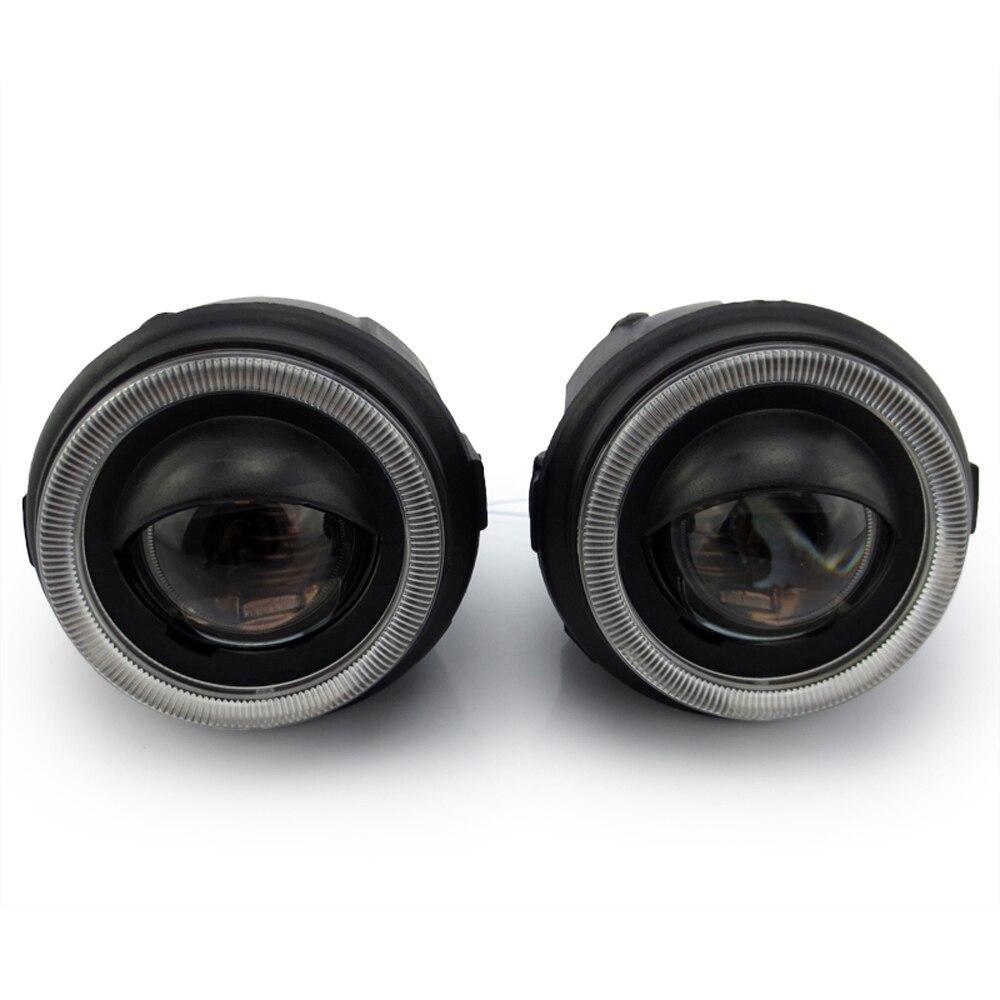 цена на Front bumper headlight bifocal lens sport HID Xenon Halogen fog light lamp holder house for NISSAN JUKE MURANO NOTE NV200