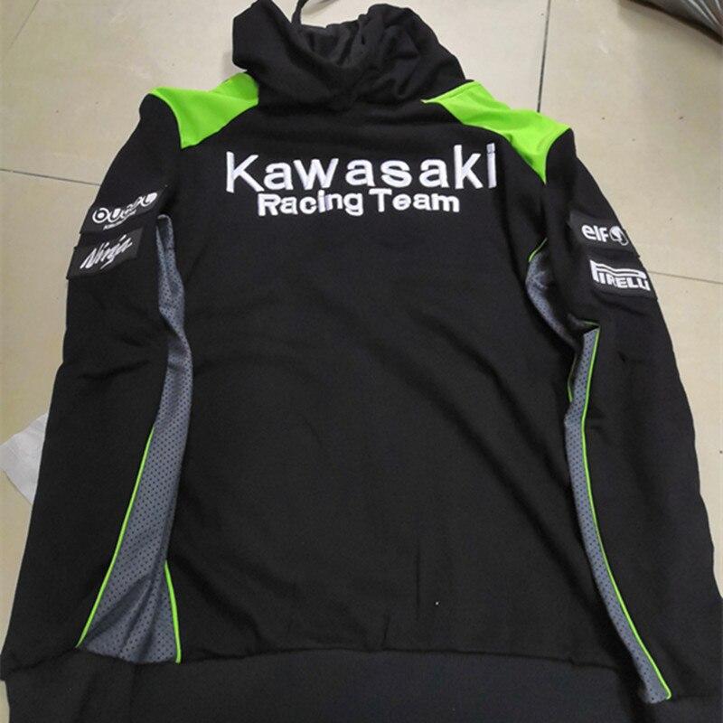 Casquettes Shirts T Motogp Kawasaki Et Pour Veste Moto D'été Hommes pZ61Hwx
