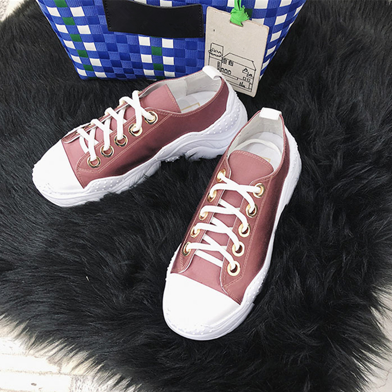 2018 Luxury Brand Women Sneakers Fashion Stain Platform Trainers Walking Casual Shoes Old Style Gladiator Flats Zapatos de mujer 2016 hot sale fashion women walking shoes summer lightweight breathable women casual shoes flats zapatos mujer trainers r013