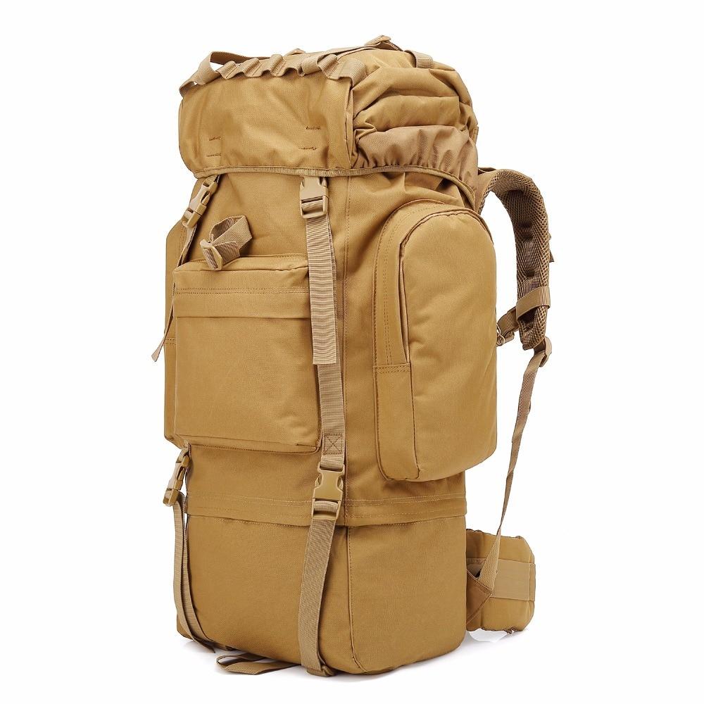 Black Hawk Commandos Professional Mountaineering Shoulder Backpack 65L Waterproof Cover Lightweight Military bag creature commandos
