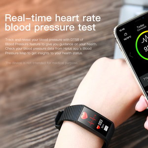 Image 5 - VTIN DT58 смарт браслет ЭКГ PPG спортивные Смарт часы IP68 Водонепроницаемые пульсометр кровяное давление часы спортивный браслет