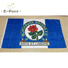 England EPL Blackburn Rovers FC 3ft*5ft (90*150cm) Size Christmas Decorations for Home Flag Banner Gifts