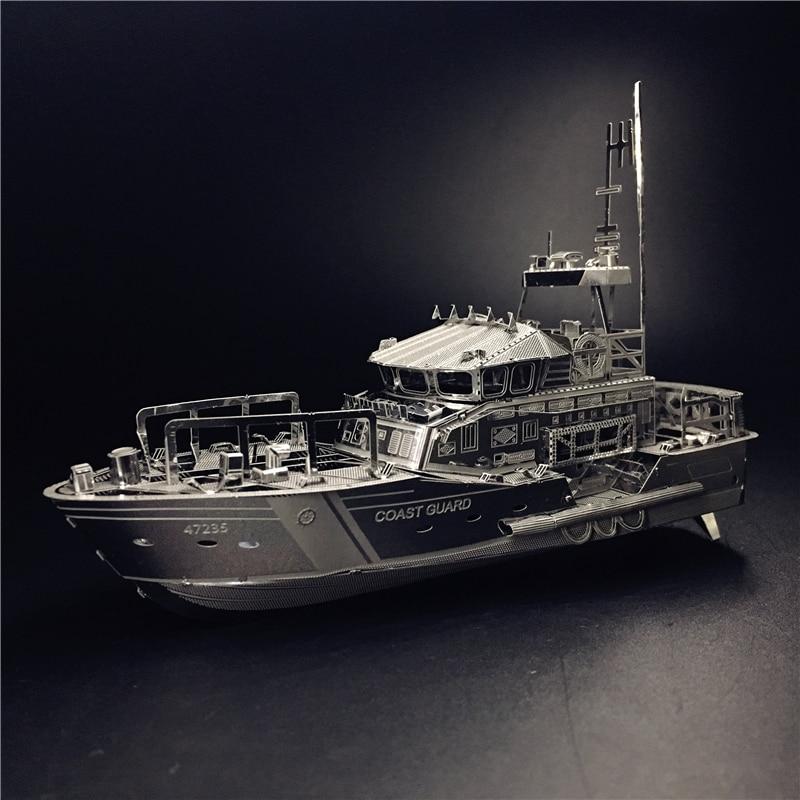 MMZ MODEL NANYUAN 3D Metal kits DIY Puzzle Assembly Model LIFEBOAT C22201 1 100 2 Sheets