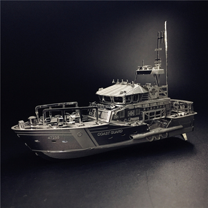 MMZ MODEL NANYUAN 3D Metal kits DIY Puzzle Assembly Model LIFEBOAT C22201 1:100 2 Sheets Stainless Steel Creative toys gift(China)