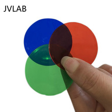 Trichromatic Filter Three Primary Colors Transparent Sheet 50mm RGB Physical Optics Experiment Teaching Equipment