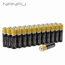 NANFU 36 Pcs/Set AA Batteries Ultra Power LR6 Alkaline Battery 1.5v for Clock Remote Controller Toys Electronic Device 2ABattery