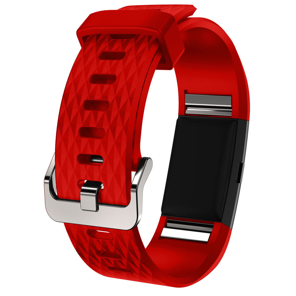 New Fashion Watchband Sports Silicone Replacement Strap Band For Fitbit Charge 2 Correa Venda Dropshipping Dignity JU12 jansin 22mm watchband for garmin fenix 5 easy fit silicone replacement band sports silicone wristband for forerunner 935 gps