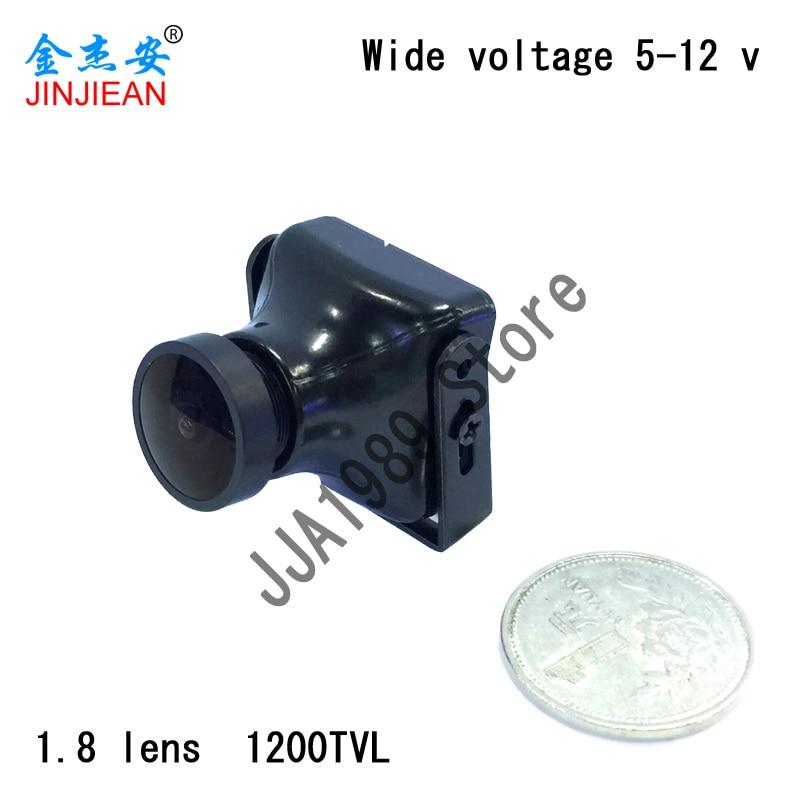 Kamera COMTV s vysokým rozlišením 1200TVL, 1,8mm objektiv, PAL FPV kamera pro FPV RC Kvadrokoptéra ZMR250