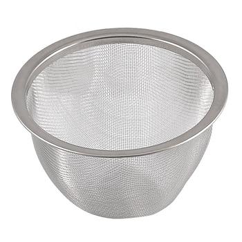 Cesta Infusor de especias de hoja de té de malla metálica de 80mm de diámetro de tetera
