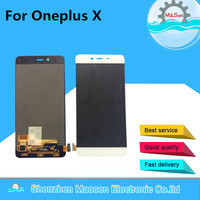 100 New LCD Screen Display Touch Panel Digitizer For Oneplus X One E1001 White Black Free