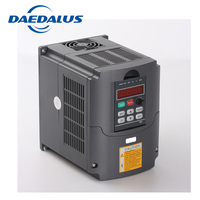 inverter 3kw vfd frequency converter 220 Output Phase 3phase for cnc spindle motor