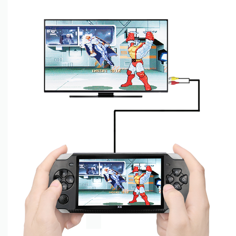 Portable Video Game Built in 2000 Games Handheld Game Console With Earphone Video Juego Portatil Video Games