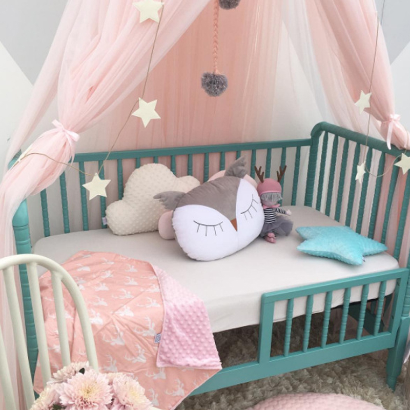 CLOVER LANGUAGE Childrenu0027s Room Mosquito Net Tent Curtains Baby Dome Bed Canopy Curtain Cover Hammock Home Bedroom Decoration-in Mosquito Net from Home ... : baby dome tent - memphite.com